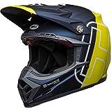 BELL Helmet Moto-9 Flex Husqvarna Gotland M/G Blue/Hi-Viz M
