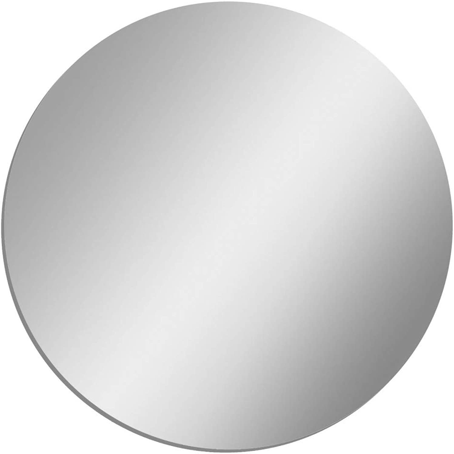 Circle Shatterproof Acrylic Safety Mirror - 12in x 12in