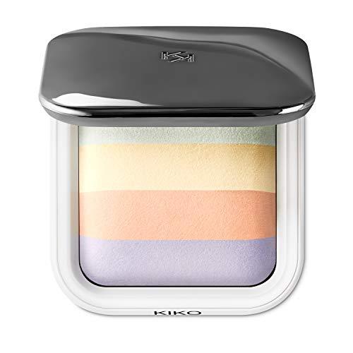 Kiko Milano Colour Correction Face Fixing Powder | Polvos de Maquillaje Cocidos, Fijadores y Correctores en 4 Tonos