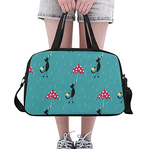 XiexHOME Large Tote Bag Retro Antique Colorful Paper Umbrella Yoga Gym Totes Fitness Handbags Duffel Bags Shoe Pouch For Sport Luggage Womens Outdoor Mens Gym Bag