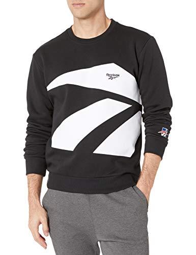 Reebok Unisex-Erwachsene Classic International Sport Crew Sweatshirt mit Rundhalsabschnitt, schwarz, XX-Large