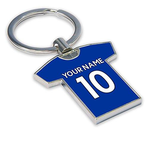 UKSoccershop Personalised Chelsea Key Ring