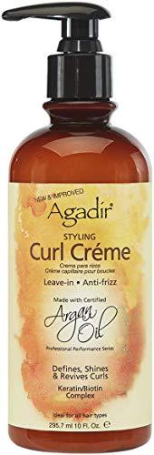 Agadir Lockencreme mit Argaöl, wird nicht ausgewaschen, 295,7 ml
