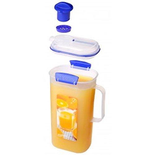 Sistema KLIP IT Juice Jug with Clip, Blue, 2 Litre