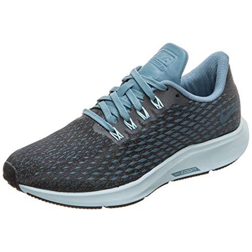Nike W Air Zoom Pegasus 35 PRM, Zapatillas de Running Mujer, Multicolor (Black/Celestial Teal/Ocean Bliss 003), 38.5 EU