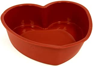 World Cuisine Silicone Nonstick Baking Mould, Heart