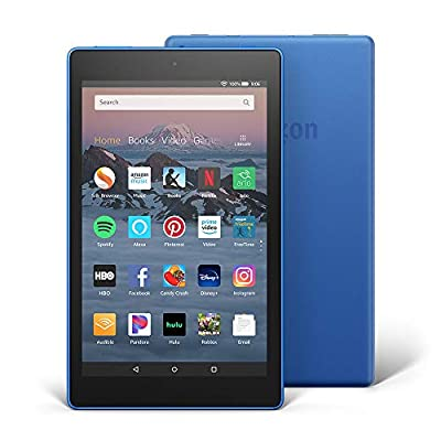 """Fire HD 8 Tablet (8"""" HD Display, 16 GB) - Blue from Amazon"""