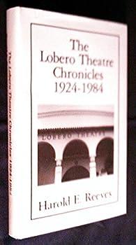 Hardcover The Lobero Theatre Chronicles 1924-1984 Book