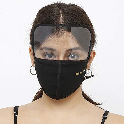 Travel Blue Black Cotton Shield Face Mask