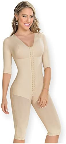 M D 0161 Fajas Colombianas Levanta Cola Post Op BBL Postsurgery Compression Garments After Liposuction product image
