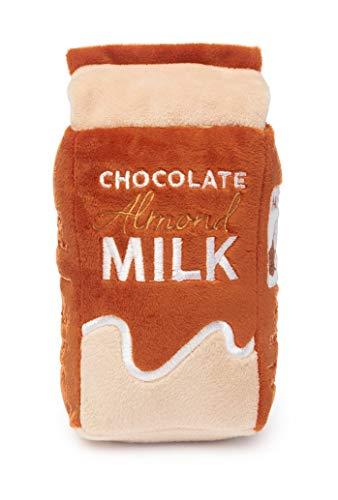 FuzzYard Chocolade Amandel Melk Pluche Hond Speelgoed