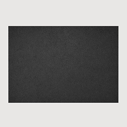daff fiberixx Tisch Set, Kunststoff, schwarz, 42cm