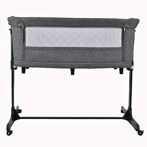 Big Save! Rocking Chair Folding Travel Cot Newborn Baby Sleeping Artifact Rocking Crib with Casters ...