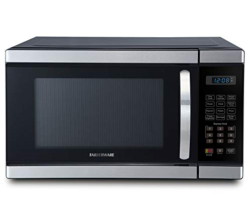 Farberware 1.1-Cu. Ft. 1000-Watt Microwave Oven, Cu.Ft, Brushed Stainless Steel