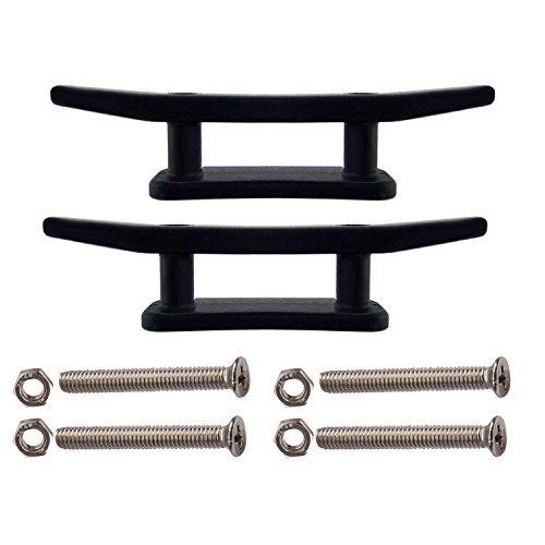 YYST 2 X 3 Kayak Boat Canoe Mooring Deck Mount Anchor Cleat with Screws and Nuts