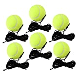HomeDecTime 6X Pelota de Tenis con Cuerda Reemplazo de La Pe