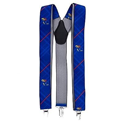 Eagles Wings EAG-8011 Kansas Jayhawks NCAA Oxford Mens Suspenders