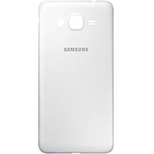 Original Samsung Akkudeckel White/weiß für Samsung G530F Galaxy Grand Prime (Akkufachdeckel, Batterieabdeckung, Rückseite, Back-Cover) - GH98-34669A