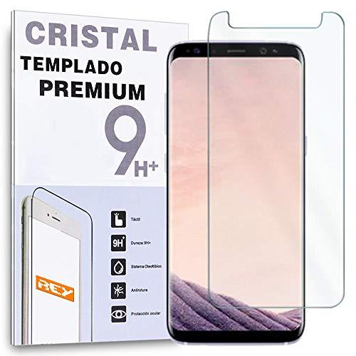 REY Protector de Pantalla para Samsung Galaxy A8 2018 / Samsung Galaxy...