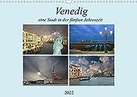 Venedig, eine Stadt in der fuenften Jahreszeit. (Wandkalender 2022 DIN A3 quer): Wenn ich den Kalender mir an schaue, bekomme ich Gaensehaut. (Monatskalender, 14 Seiten )