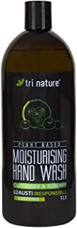 Tri Nature Moisturing Hand Wash - Cucumber and Bilberry Refill, 1 L