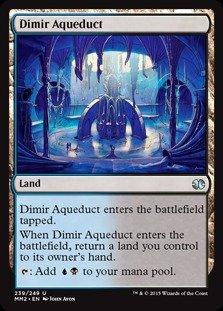 Magic The Gathering - Dimir Aqueduct (239/249) - Modern Masters 2015