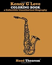 Kenny G Love COLORING BOOK a Collectible Unauthorized Biography
