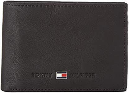 Tommy Hilfiger Johnson Mini CC Flap Coin Pocket, Cartera Unisex-Adult, Negro (Black), OS