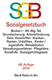 Sozialgesetzbuch, mit Sozialgerichtsgesetz (dtv Beck Texte)