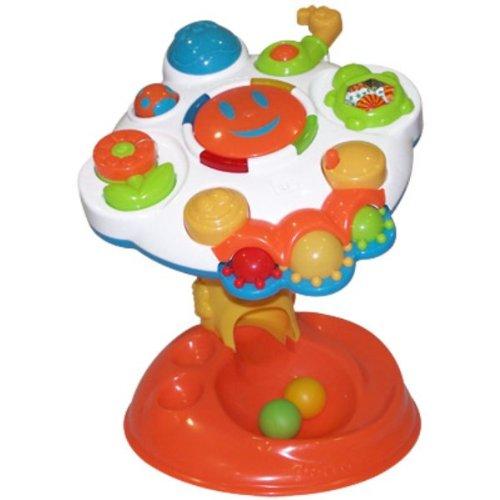 Molto 10524 Speeltafel met 7 functies, wit/rood