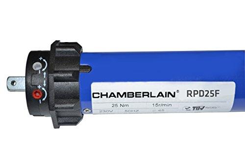 Chamberlain Rollladenantrieb 25 Nm mit Funk, 1 Stück, RPD25F-05