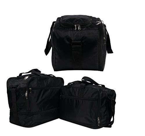 Juego completo de bolsas interiores de aluminio con bolsillos interiores y maletín superior para BMW F650GS