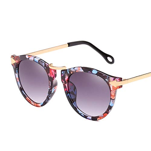 Sonnenbrille Cat Eye Sonnenbrille Frauen Luxus Marke Pfeil Sonnenbrille Vintage Shades Für Frau Sonnenbrille Damen Blumen Sonnenbrillen Flower-Gradientgra
