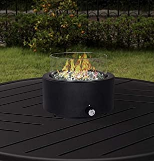 Better Homes & Garden's Tremont Round Gas Burning Tabletop Fire Pit