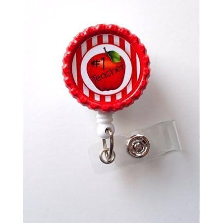 Mr avocado Badge Reel.ID Badge.Teacher Badge Reel.Badge Reel.Nurse Badge Reel.Planner Paperclip.Badge Reel.Badge.Heart.Retractable.Badge