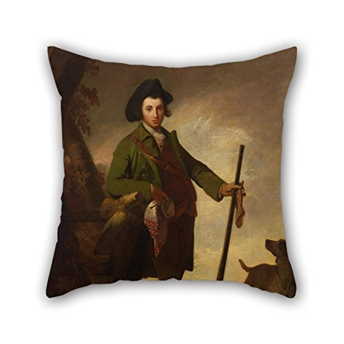 Beautifulseason Oil Painting Robert Pine - The Young Sportsman Pillow Covers 20 X 20 Inches / 50 By 50 Cm For Kids Boys,car Seat,lover,wedding,christmas,bf With Twin Sides