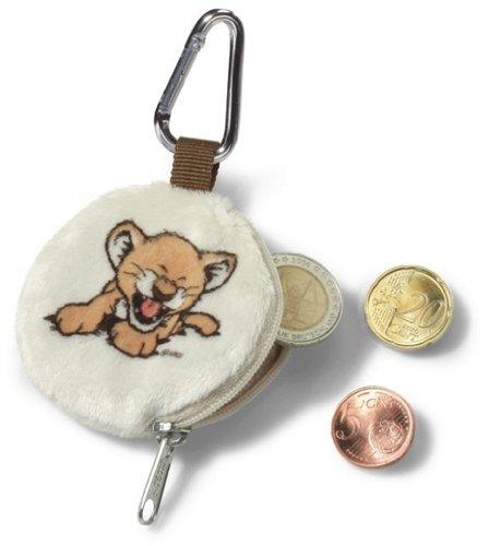 NICI 33745 - Minigeldbeutel Löwenbaby mit Karabiner Wild Friends