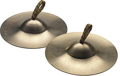 Stagg 14915 Fingerzimbel (1-Paar, Durchmesser: 9 cm) bronze