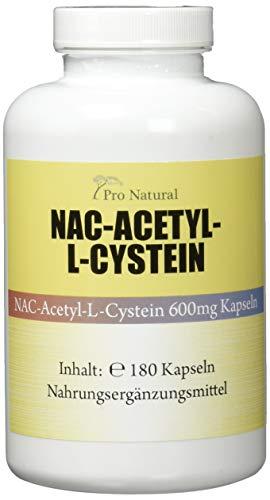 NAC - N-Acethyl L-Cystein 126 g - 180 Kapseln