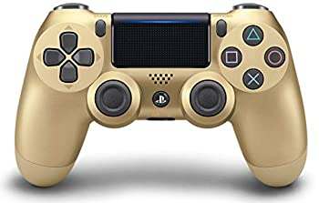 gold playstation controller