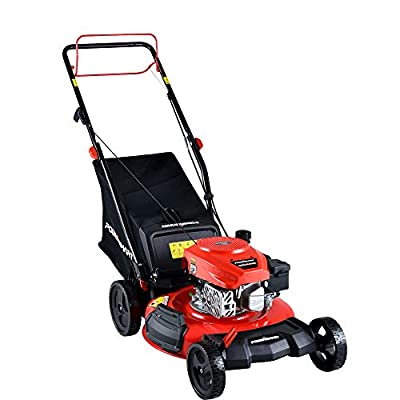 "PowerSmart DB2194SR 21"" 3-in-1 170cc Gas Self Propelled Lawn Mower"