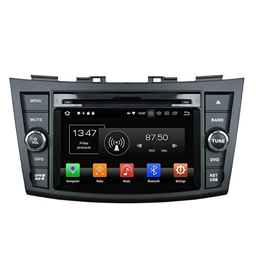 WHL.HH para Suzuki Rápido 2013-2017 Androide 10 Auto Estéreo Radio GPS Navegación Cabeza Unidad HD Tocar Pantalla Apoyo Teléfono Control SWC Bluetooth Video Receptor