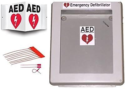Defibrillator AED Cabinet Box with Window