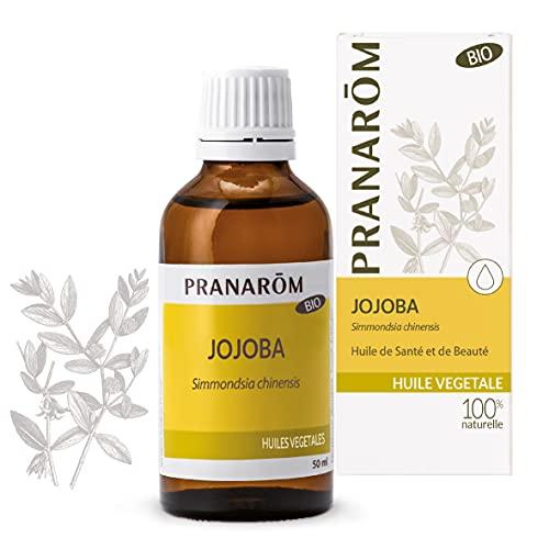 Pranarôm | Jojoba Bio Eco - Huile Végétale | Acides Gras Mono-Insaturés | 50 ml