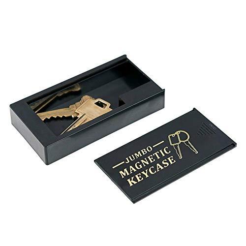 WYZworks Magnetic Key Hider Holder for Under Car Spare Key Safe Case - Large