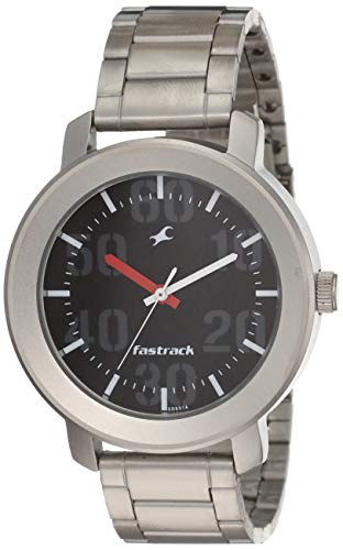 Fastrack Casual Analog Black Dial Men's Watch -NL3121SM02