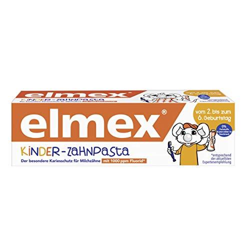 Elmex Kinder-Zahnpasta, 2-6 Jahre, 50 ml