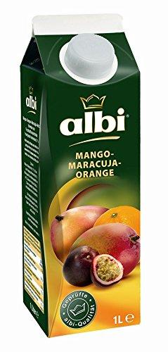 Albi Mango-Maracuja Nektar, 6er Pack (6 x 1 l Packung)