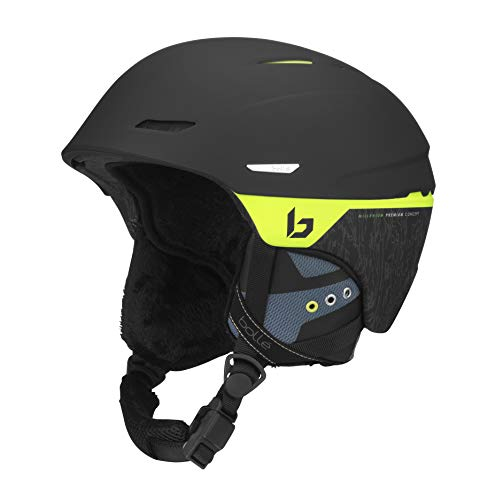 bollé Millenium, Casco da Sci Unisex Adulto, Matte Black Flash, M
