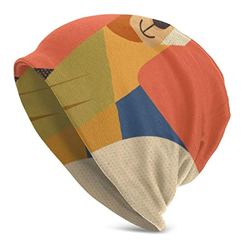 LESIF - Gorro de punto con forma de canguro, suave, elástico, para...